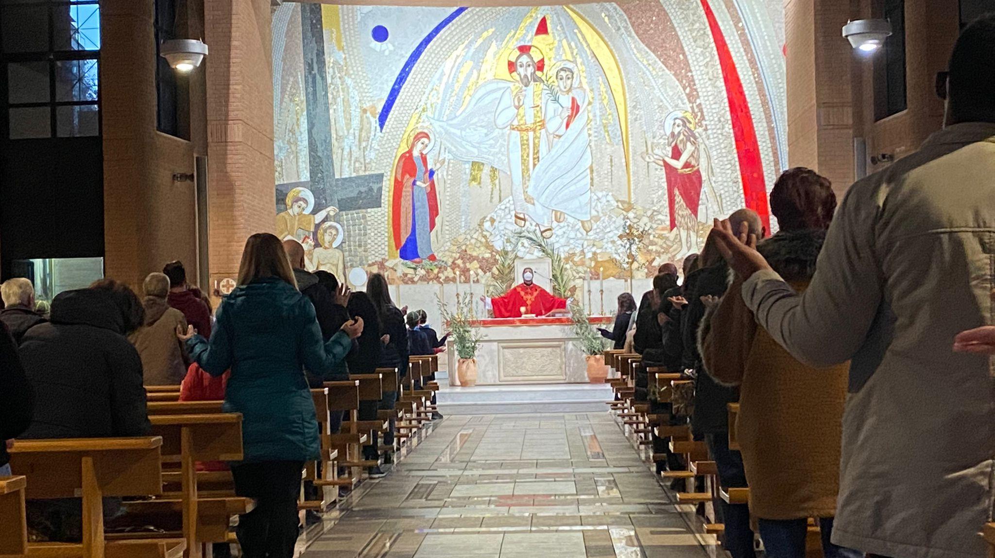 Ringraziamento del Parroco a conclusione della Domenica delle Palme